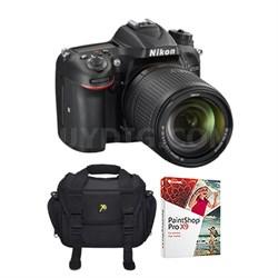 D7200 DX-format DSLR w/ 18-140mm VR Lens Bundle (Refurbished)