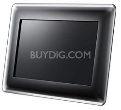"""SPF-87H 8"""" Digital Photo Frame with Multimedia Playback"""