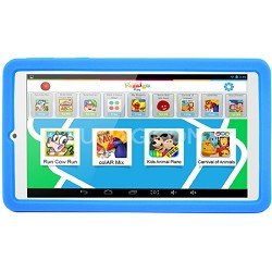 PadPal 7 inch Dual Core Family Android Tablet in Blue