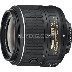 AF-S DX NIKKOR 18-55mm f/3.5-5.6 G VR II Lens - Factory Refurbished