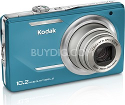 """EasyShare M380 10.2 MP 3.0"""" LCD 5x Zoom Digital Camera (Teal)"""