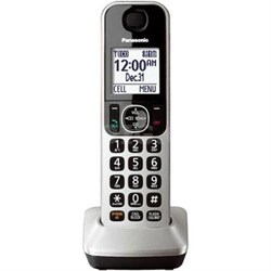 Cordless Handset in Silver for KXTGF370 Series - KX-TGFA30S