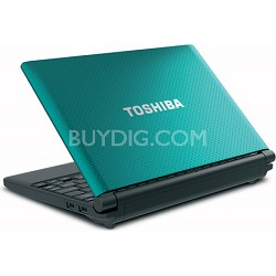 "Mini 10.1"" NB505-N508TQ Netbook PC - Turquoise Intel Atom processor N455"