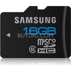 16GB microSD Class 6 Water/Shock Proof Memory Card Bulk Packaging