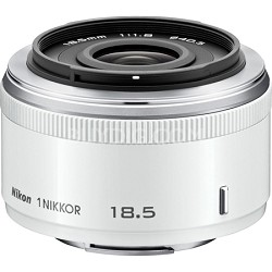 1 NIKKOR 18.5mm f/1.8 (White) (3324) - Factory Refurbished