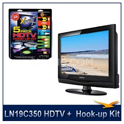 LN19C350 - HDTV + High-performance HDTV Hook-up & Maintenance Kit