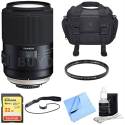 SP 90mm f/2.8 Di VC USD 1:1 Macro Lens for Nikon Super Performance Lens Bundle