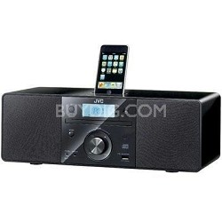 Home RDN1 CD Portable System with Top Mount iPod Dock Refurbished