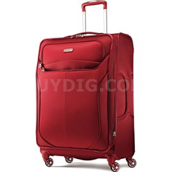 """LIFTwo 25"""" Spinner Luggage (Red)"""