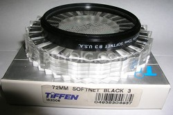 72mm Softnet Black 3 Filter