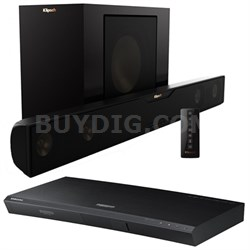 R-20B Bluetooth Soundbar + Samsung UBD-K8500 3D Wi-Fi 4K Blu-ray Player