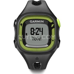 Forerunner 15 Heart Rate Monitor Bundle Small - Black/Green