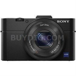 Cybershot DSC-RX100M II Cyber-shot 20.2MP Digital Camera - Black OPEN BOX