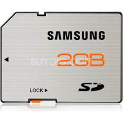 SD High Speed 2GB Waterproof and Shockproof Memory Card
