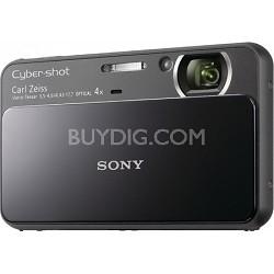 Cyber-shot DSC-T110 16.1MP Black Touchscreen Digital Camera
