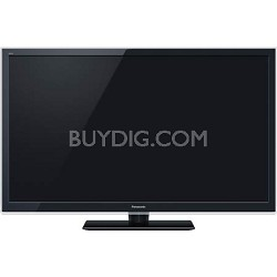 TC-L55ET5 55 inch VIERA Class 3D LED Black Flat Panel HDTV 4 Glasses included