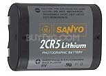 2CR5 Long life lithium Ion Photo battery