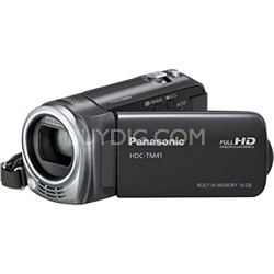 HDC-TM41H HD Camcorder with 16GB Internal Flash Memory