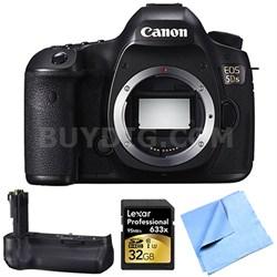 EOS 5DS 50.6MP Digital SLR Camera (Body Only) Grip Bundle