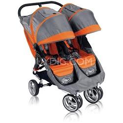 City Mini Double Stroller (Orange/Gray) Brand New 2011 Edition