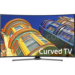 UN55KU6500 - Curved 55-Inch 4K Ultra HD LED Smart TV KU6500 6-Series - OPEN BOX