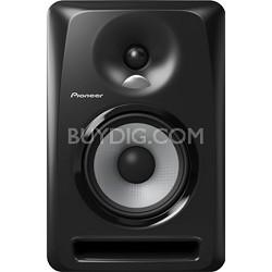 "Black Pioneer S-DJ50X 5"" Active DJ Speaker Reference Monitor"