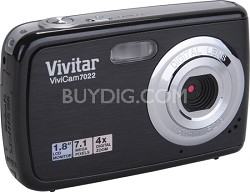 ViviCam 7022 7.1 MP Digital Camera (Black)