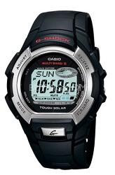 GW800-1V - Men's G-Shock Multi-Band Atomic Black Resin Band Watch