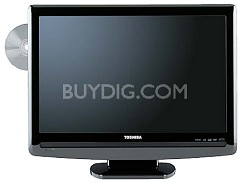 "22LV505  - 22"" LCD TV w/ built-in DVD Player"