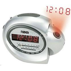 NRC-162 Projection Alarm Clock With AM/FM Radio & Snooze