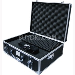 XT-HC20 Small Hard Photographic Equipment Case with Carrying Handle (Black)