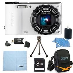 8 GB Bundle WB150F 14 MP 18X Wi-Fi Digital Camera - White