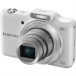 WB50F 16.2MP 12x Opt Zoom Smart Digital Camera - White - OPEN BOX