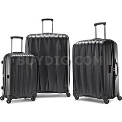 "Arona Premium Hardside Spinner 3Pcs Luggage Set 20"" 25 ""29"" (Charcoal)"