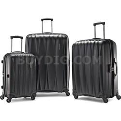 """Arona Premium Hardside Spinner 3Pcs Luggage Set 20"""" 25"""" 29"""" (Charcoal)"""