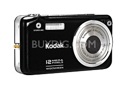 EasyShare V1253 12MP Digital Camera (Black)