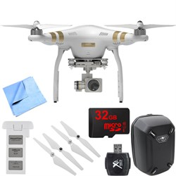 Phantom 3 Professional Quadcopter Drone with 4K Camera Mobile Command Kit