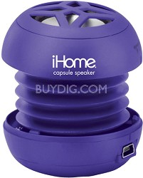 iHM7 Rechargeable Mini Speaker for iPod (Purple)