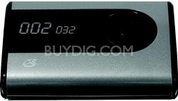 MW240S Flash Mp3 Player - 2 GB Flash Memory - Black