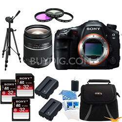 Alpha SLT-A99V 24.3 MP SLR Camera (Black) + SAL 28-75mm f2.8 Lens