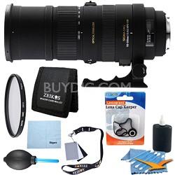 150-500mm F/5-6.3 APO DG OS HSM Autofocus Lens For Nikon - Pro Lens Kit