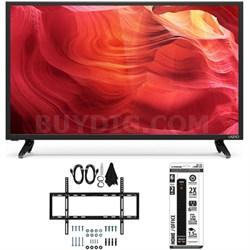 E50-D1 - 50-Inch 120Hz SmartCast LED Smart 1080p HDTV Slim Wall Mount Bundle