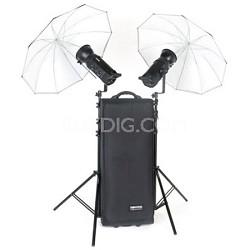 Gemini 500R (x2) Tx/Rx Studio & Location Photography Lighting Flash Kit BW-4805