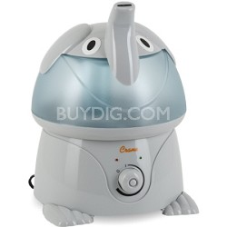 Adorable Ultrasonic 1 Gallon Cool Mist Humidifiers 32 Watts - Elephant