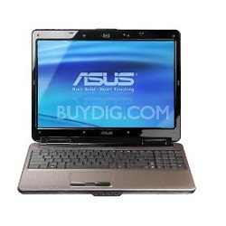"""N51VN-A1 15.6"""" Notebook With Intel 2.8GHz T9600 Processor"""
