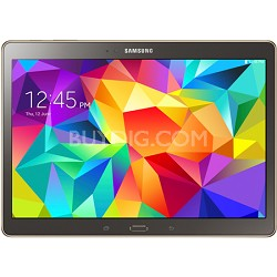 "Galaxy Tab S 10.5"" Tablet - (16GB, WiFi, Titanium Bronze)"