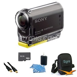 HDR-AS30V High Definition POV Action Video Camera 16GB Kit
