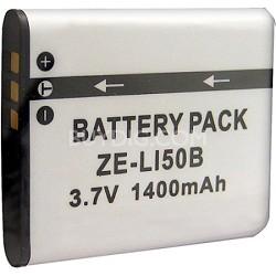 800mAH Replacement Lithium Battery for Olympus Li-50B