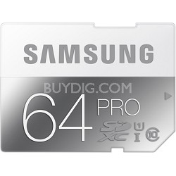PRO 64GB SDXC Upto 90MB/s Class 10 Memory Card