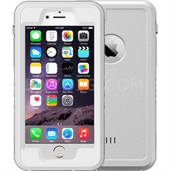"White 4.7"" Shock Resistant Waterproof Case for Apple iPhone 6/6S"